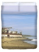 Nuclear Power Plant On The Beach, San Duvet Cover