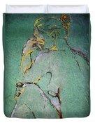 Nude IIi  Duvet Cover