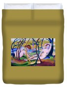 Nudes Under Trees Duvet Cover