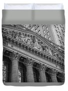 Nyse  New York Stock Exchange Wall Street Duvet Cover