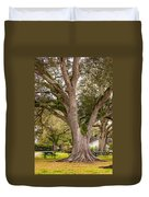 Oak Alley Backyard Duvet Cover