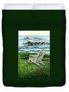Ocean Chair Duvet Cover