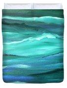 Ocean Swell   Duvet Cover