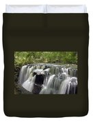 Odom Creek Waterfall Georgia Duvet Cover
