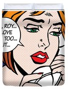 Oh Roy Duvet Cover by Gary Grayson