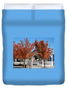 Ohio Trees Duvet Cover