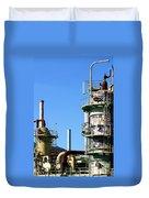 Oil Refinery Duvet Cover