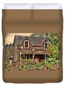 Old Abandon House Duvet Cover