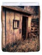 Old Barn Door Duvet Cover