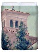 Old Bell Tower Duvet Cover