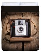 Old Camera Duvet Cover