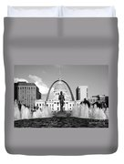 Old Courthouse Saint Louis Mo Duvet Cover