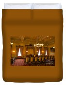 Old House Of Delegates Room Of The Maryland State House Duvet Cover