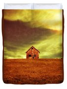Old House On The Hill Duvet Cover by Edward Fielding