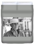 Old Man Duvet Cover