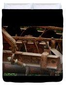 Old Farm Machine Duvet Cover