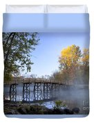 Old North Bridge Concord Duvet Cover