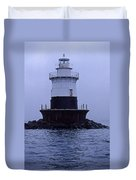 Old Orchard Lighthouse Duvet Cover