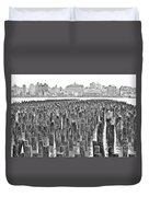 Old Piers Duvet Cover