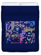 Old School Hip Hop 3 Duvet Cover