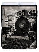 Old Steam Lock  Duvet Cover