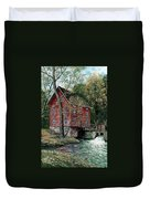 Old Time Mill Duvet Cover