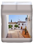 Old Town In Cordoba Duvet Cover