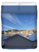 Old Village Sestri Levante Duvet Cover