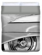Oldsmobile 98 Wheel Emblem Duvet Cover