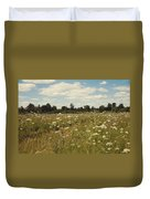 On The Summer Meadow. Russia Duvet Cover
