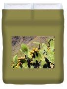 Opuntia Ficus-indica Duvet Cover