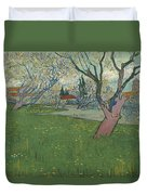 Orchards In Blossom Duvet Cover