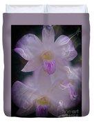 Orchid Ruffles Duvet Cover