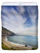 Oregon Coastline Duvet Cover