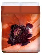 Oriental Poppy Duvet Cover