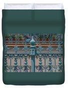 Ornate Fence Duvet Cover