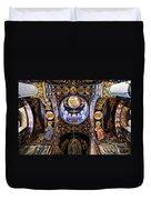 Orthodox Church Interior Duvet Cover by Elena Elisseeva