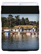 Oulton Broad Duvet Cover