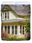 Oysterville House 6 Duvet Cover