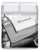 Packard Taillight Duvet Cover