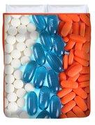 Pain Medication Duvet Cover