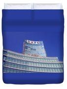 Palazzo Lombardia Duvet Cover
