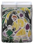 Palm Wine Tamper In The Bush. Duvet Cover