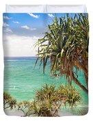 Pandanus Palm Tree Duvet Cover