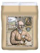 Paracelsus (1493-1541) Duvet Cover