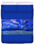 Paradise Is Blue Duvet Cover