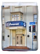 Paramount Movie Studio Hollywood Ca Duvet Cover