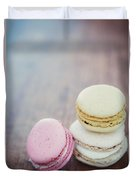 Pastel Macarons II Duvet Cover