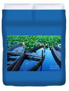 Pateira Boats Duvet Cover