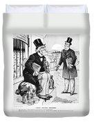 Patent Medicine Cartoon Duvet Cover
